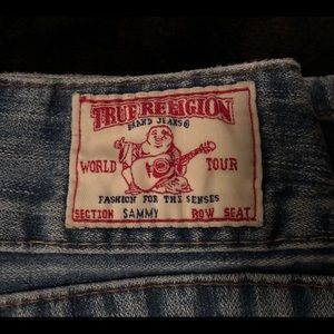 True Religion world tour jeans. Size 27